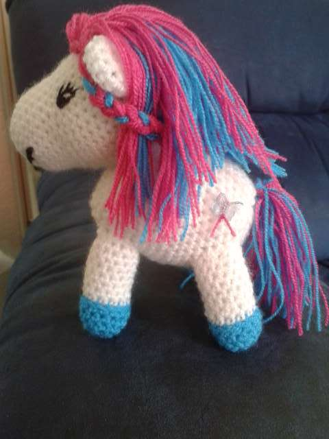 Gehaakte my little pony