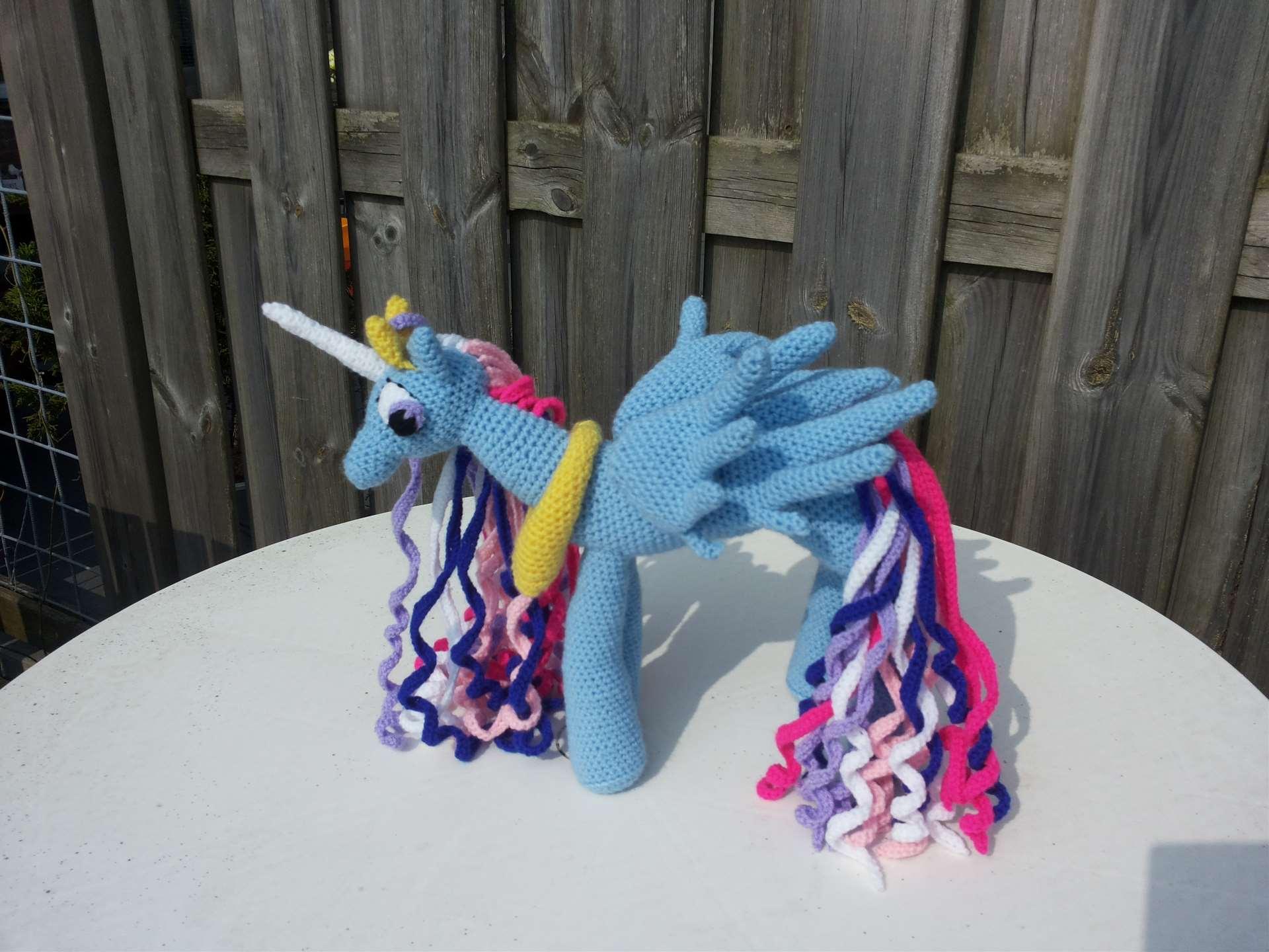 gehaakte pony