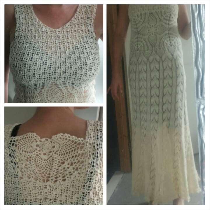 mooie gehaakte jurk