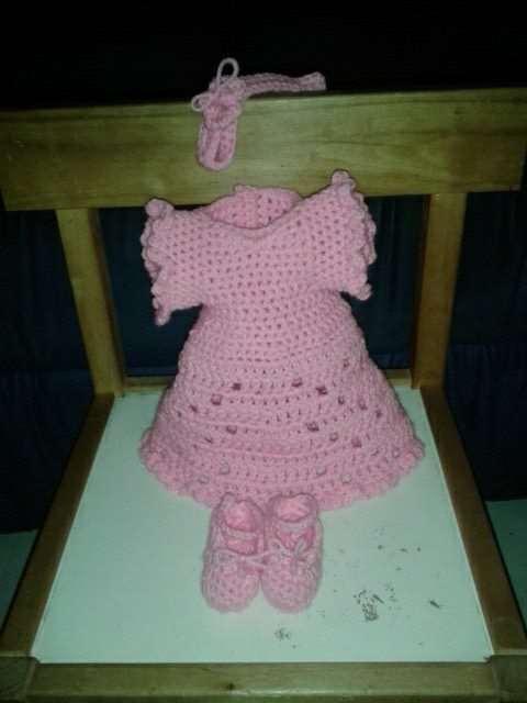 Poppenoutfit roze